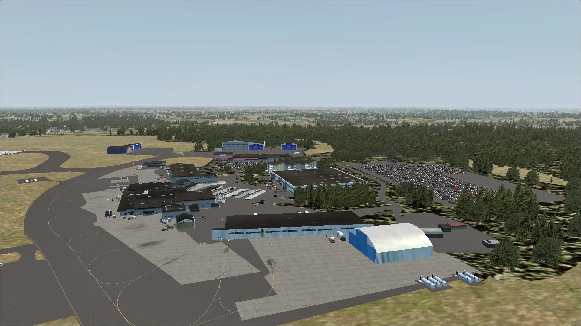 Stockholm Skavsta Airport - ESKN - Free scenery for Microsoft Flight