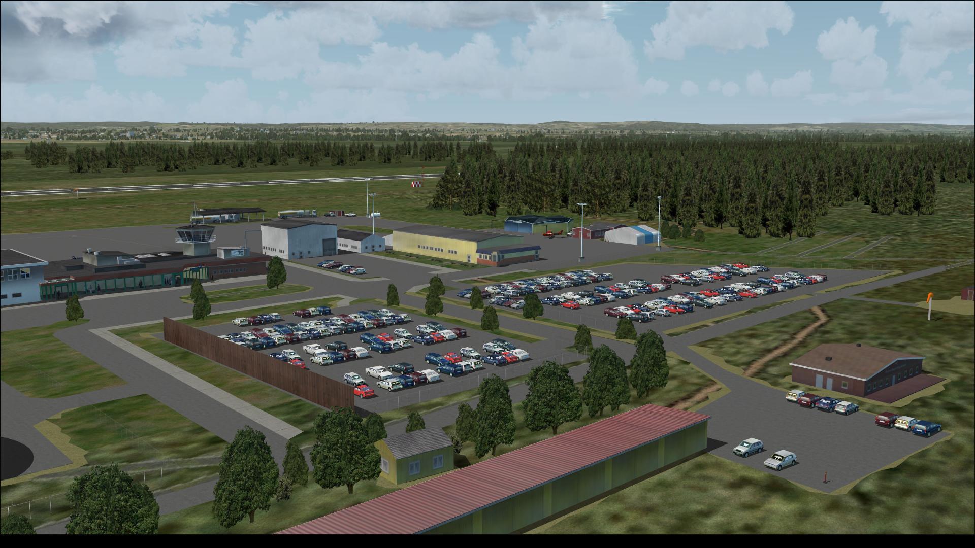 Örebro Airport - ESOE - Free scenery for Microsoft Flight