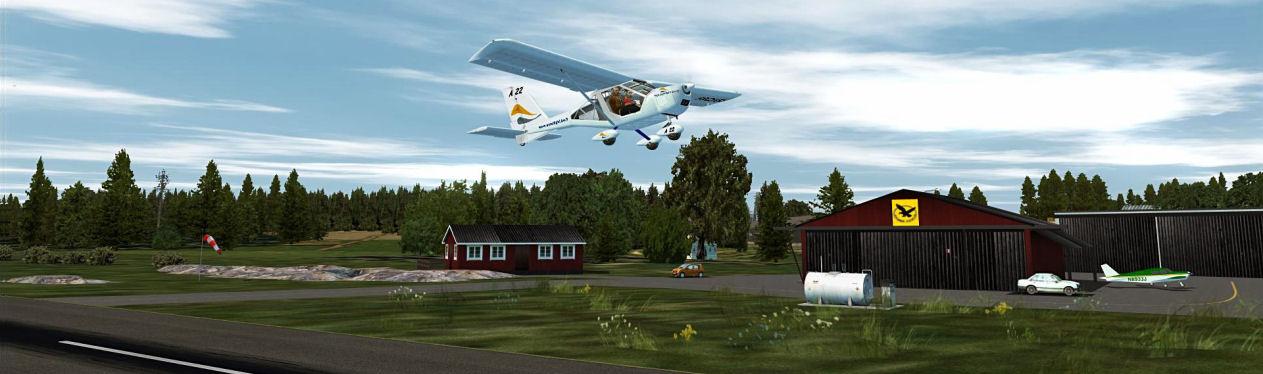 Norrtälje - ESSN - Free scenery for Microsoft Flight Simulator X